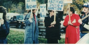 Abortion Rally, Nov 1988