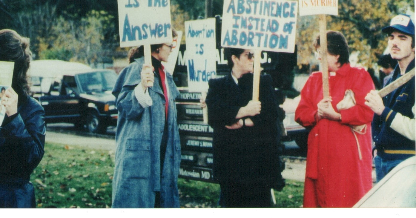 Abortion Rally, Nov 1988